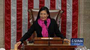 Rep. Deb Haaland (D-NM) is Recognized as the First Woman to Chair House Proceedings [Video]