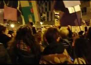 Marchers Rally for International Women's Day in Barcelona [Video]