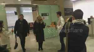 Women gifted with flowers at St. Petersburg airport to mark International Women's Day [Video]