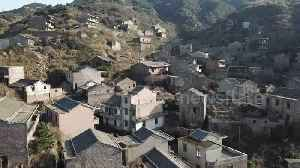 """Eerie drone footage of """"ghost village"""" on island off eastern China [Video]"""