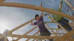 Habitat Tapping Ladies' Hands To Help Build Home [Video]