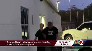 Orange County elementary school teacher accused of molesting child, officials say [Video]