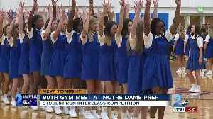 Notre Dame Prep 90th Annual Gym Meet competition [Video]