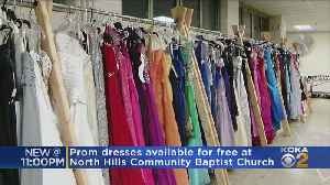 Prom Dresses Available For Free At North Hills Church [Video]