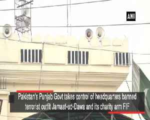 Pakistan's Punjab Govt takes control of banned JuDs headquarters [Video]