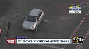 Bicyclist seriously hurt after being struck near 20th Street and Highland Avenue [Video]