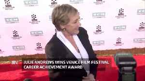 Julie Andrews Gets A Special Award At Venice Film Festival [Video]