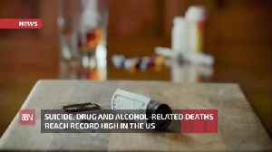 The Sad Rise In Suicide, Drug And Alcohol Deaths [Video]