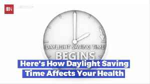 Can Daylight Savings Time Affect Your Health [Video]