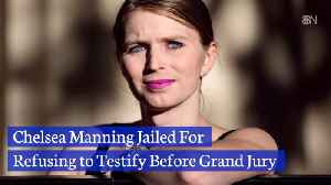 Chelsea Manning Is Now Back In Jail [Video]