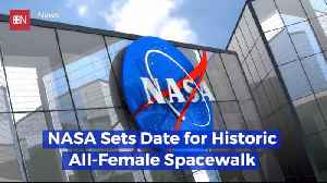 NASA Is Getting Ready For All Female Space Wall [Video]