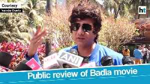 Public review of Amitabh Bachchan Taapsee Pannu-starrer Badla [Video]