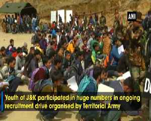 Indian Army's recruitment drive attracts J and K youth to join force [Video]