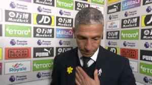 Hughton hails 'manly' performance [Video]