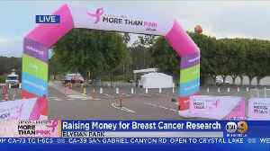 Raising Money For Breast Cancer Research [Video]
