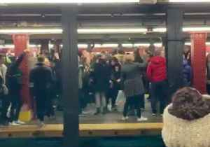 Robyn Fans Aren't 'Dancing On Their Own' During Subway Singalong [Video]