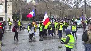 Hundreds of 'yellow vest' protesters march in Paris [Video]