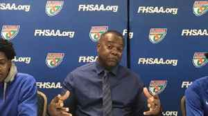 Dillard coach Darryl Burrows discusses the Panthers' loss in the Class 7A title game [Video]