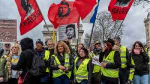 Not With A Bang But A Whimper? French 'Yellow Vest' Protestors' Numbers Shrink [Video]