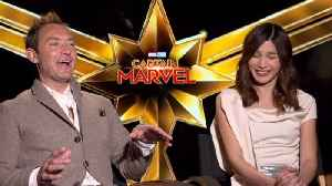 Gemma Chan And Jude Law Have Some Fun In 'Captain Marvel' Interview [Video]