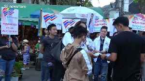 Thailand's first transgender PM candidate rallies support ahead of elections [Video]