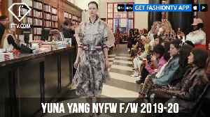 Yuna Yang New York Fashion Week Fall/Winter 2019-20 | FashionTV | FTV [Video]