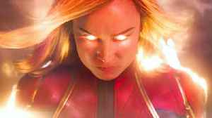 Captain Marvel with Brie Larson - Official '#1 Movie' Trailer [Video]