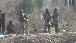 News video: Islamic State fighters remain in small pocket of Baghouz