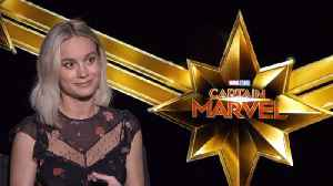 News video: Brie Larson And Her Strong Female Qualities In 'Captain Marvel'