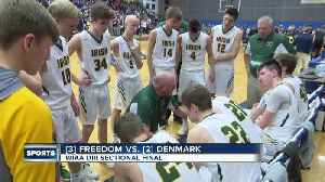 Denmark defeats Freedom, and other sectional final scores [Video]