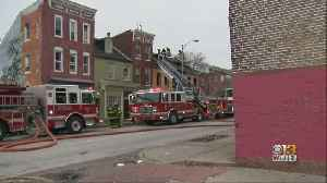 Officials Investigating Three-Story Bar Fire In West Baltimore [Video]