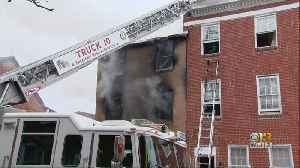 One Man Injured In Three-Story Fire On Poppleton Street [Video]