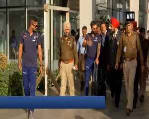 Ind vs Aus Teams arrive in Chandigarh for 4th ODI [Video]
