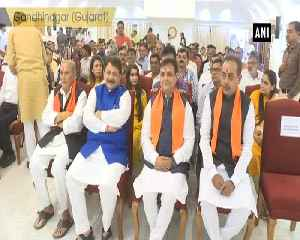 Newly appointed Cabinet Ministers take oath at Raj Bhavan in Gujarat [Video]