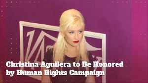 Christina Aguilera Will Get A Special Honor [Video]