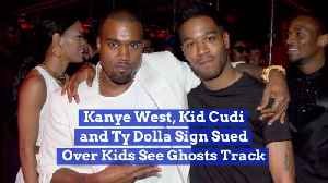 Kanye West, Kid Cudi And Ty Dolla Sign Are All Sued Together [Video]