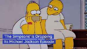 The Simpsons Are Dumping Michael Jackson [Video]