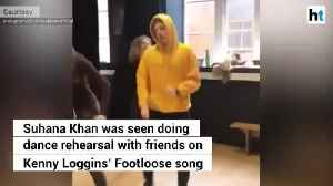 Shah Rukh Khans daughter Suhana Khan grooves with friends at dance rehearsal [Video]