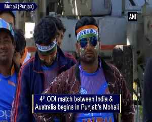 Ind vs Aus Fans hopeful of India's win in 4th ODI [Video]