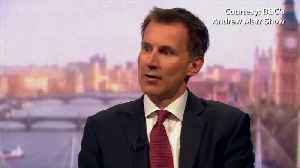 Brexit in peril if PM May's deal is rejected - foreign minister Hunt [Video]