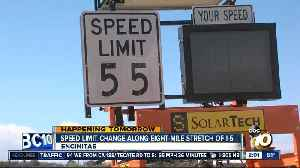 Speed limit change along eight-mile stretch of the I-5 [Video]