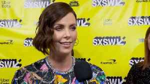 SXSW Red Carpet: Charlize Theron's Experience With Seth Rogen [Video]