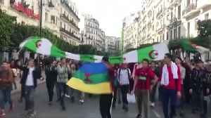 Algeria's Bouteflika arrives home to mass protests [Video]