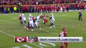 NFL Network Insider Ian Rapoport: Kansas City Chiefs linebacker Justin Houston's release was about cap space for Chiefs [Video]