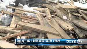 Dairy farmers hit hard by winter storms [Video]