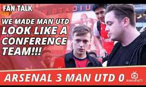 We Made Man Utd Look Like A Conference Team!!! | Arsenal 3 Man Utd 0 [Video]