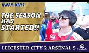 The Season Has STARTED!! | Leicester City 2 Arsenal 5 [Video]