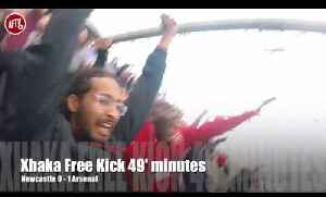 Arsenal Fans Celebrate From The Newcastle Heavens! | Stadium Cam [Video]