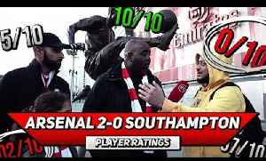 Arsenal 2-0 Southampton | Player Ratings Feat Troopz & Moh [Video]