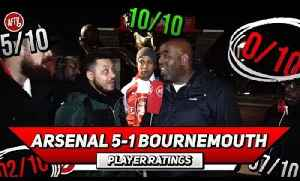 Arsenal 5-1 Bournemouth | Sokratis Should Be Our Captain! Player Ratings Ft Troopz & Turkish [Video]